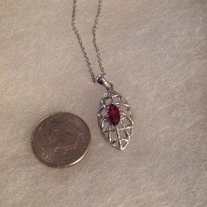 Jewelry - Garnet in Sterling Setting