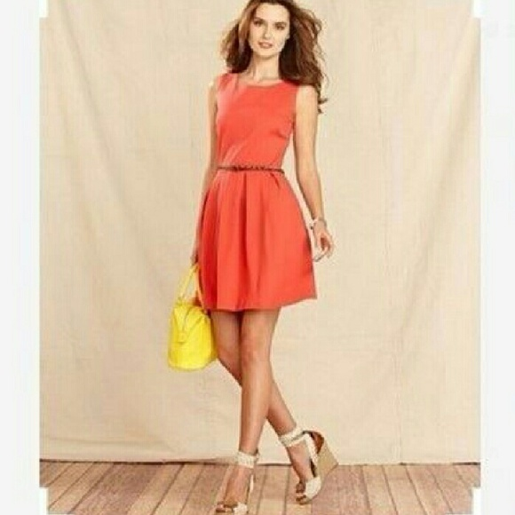 83870df0 Tommy Hilfiger Dresses | Coral Aline Dress With Pockets | Poshmark