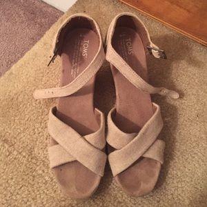TOMs wedge sandals