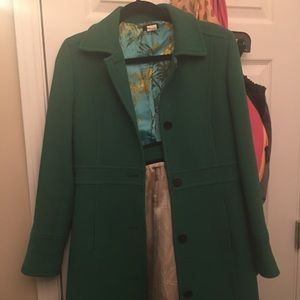 Jcrew size ladies double cloth coat