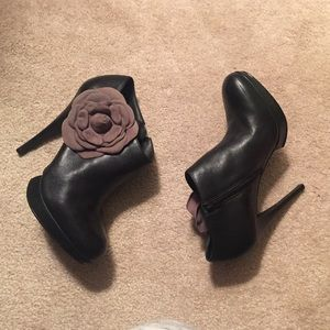 Kelsi Dagger Shoes - Kelsi Dagger Flower Booties
