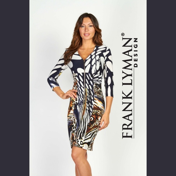874f7abace1 Frank Lyman Zipper Dress