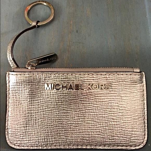 michael kors accessories key chain coin pursecard holder poshmark rh poshmark com