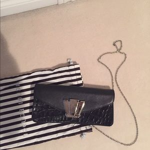 Henri bendel clutch/crossbody