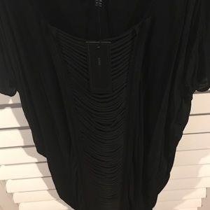 BCBGMaxAzria Dresses & Skirts - BCBG MaxAzria Black M Maddie Dress 100% Modal