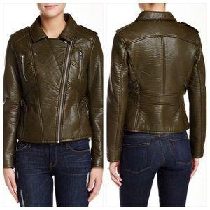 💥SALE💥Rachel Roy Faux Leather Moto Jacket