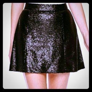 Decree Dresses & Skirts - Brand nwt sexy black sequin skirt