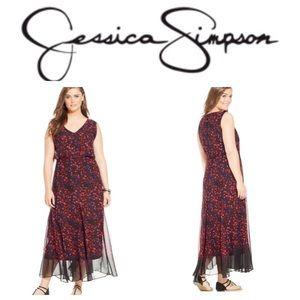 NWT Jessica Simpson Maxi Dress
