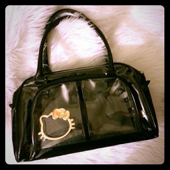 201e8ace48d Hello Kitty Handbags - Hello Kitty Transparent Bag