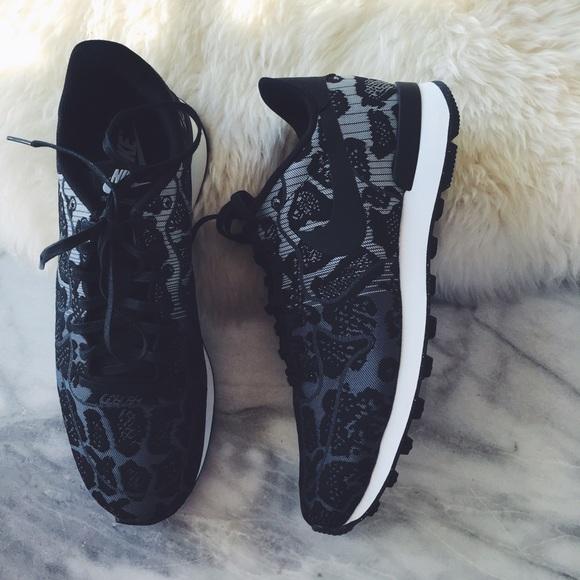 18ed422a9f50 Nike Internationalist Leopard Jacquard Sneakers