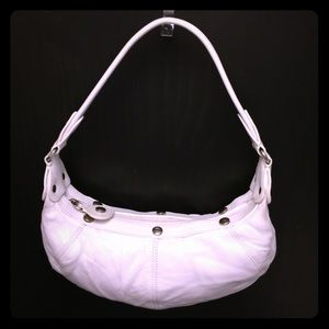 Gorgeous White Lancel Handbag