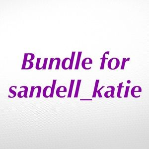 Bundle of 2 Shirts for @sandell_katie