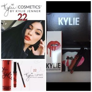Kylie Cosmetics Other - Kylie Lip Kit 22