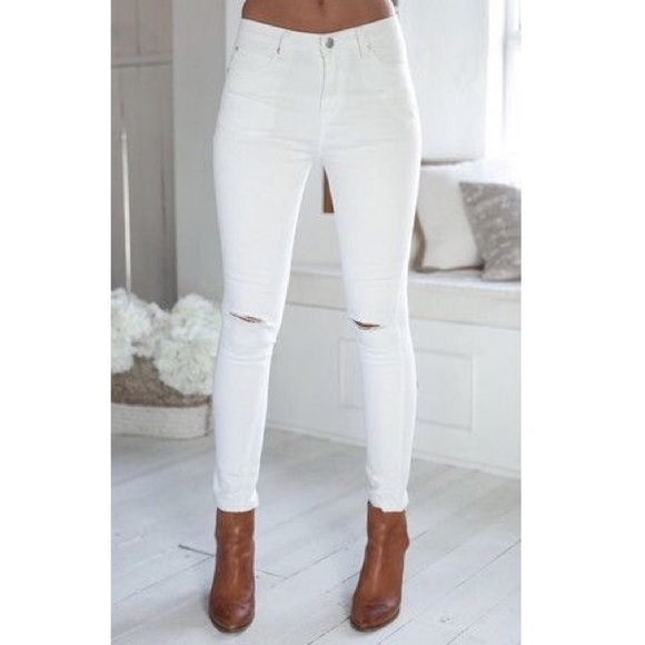 69% off Denim - Mermaid Sequin Slit Jeans Sale Price No Offers ...