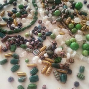 Various African Trade Beads