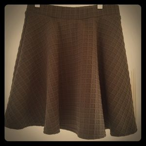 Never Worn - ASOS Dark Green Skater Skirt - Size 4