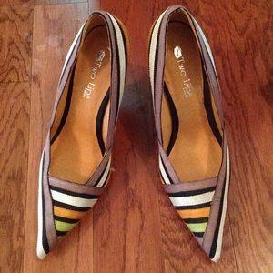 Two Lips Shoes - Multi color VINTAGE pump