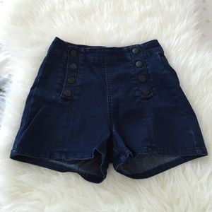 Forever21 high waisted denim shorts