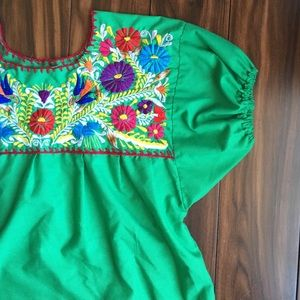 Vintage Mexican style shirt