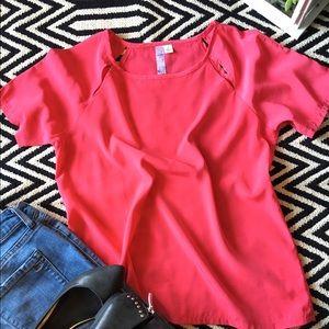 Alya Tops - Alya pink top