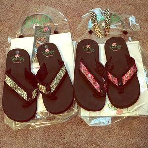 Shoes - Tigerlily interchangeable flip flops