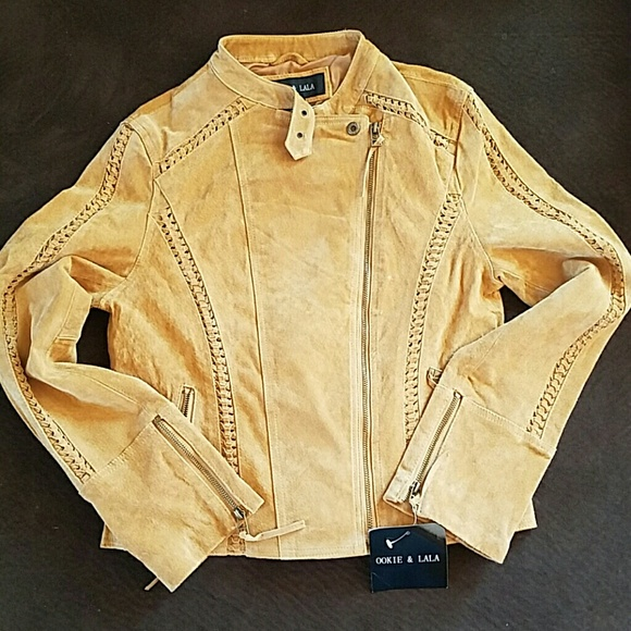 Jackets & Blazers - Ookie & Lala leather moto jacket