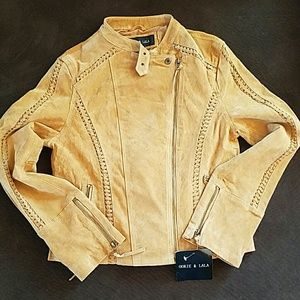 Jackets & Coats - Ookie & Lala leather moto jacket