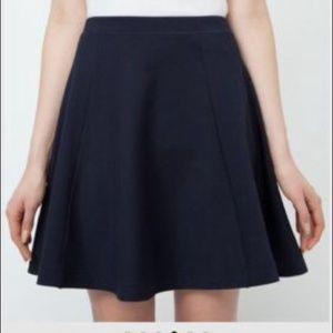 UNIQLO Dresses & Skirts - Uniqlo women ponte flare skirt
