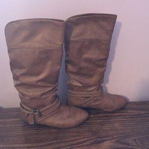 Olsenboye Shoes - Cognac boots