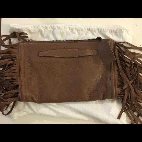 33% off Prada Handbags - Cammello Cervo Prada Milano envelope ...