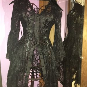 Other - Black lace coverup