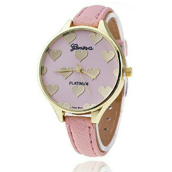 style genova silicone golden watches classic watch women platinum wristwatch pin geneva