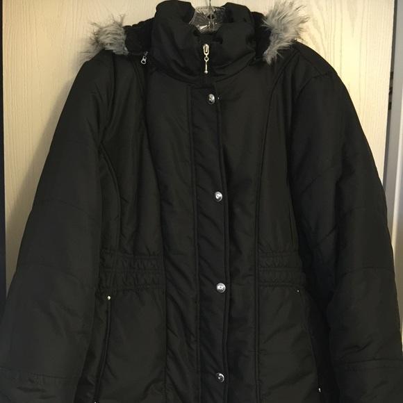 b83f01d5ec339 Centigrade Outerwear Jackets   Blazers - Centigrade Outerwear Black Puffer  Coat