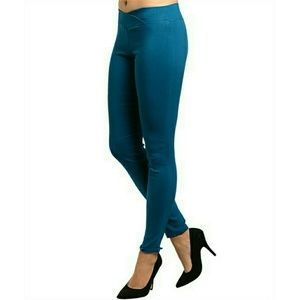 Pants - |SALE|Teal Stretch Pants