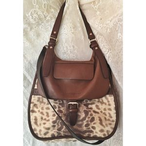 Longchamp Balzane Iguana Crossbody Purse