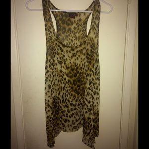 Material Girl Tops - ❗️SALE❗️Material Girl Leopard print blouse