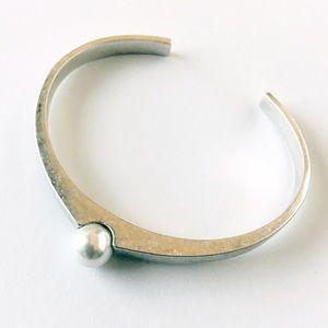 Jenny Bird Jewelry - Jenny Bird Silver Blanchett Cuff.