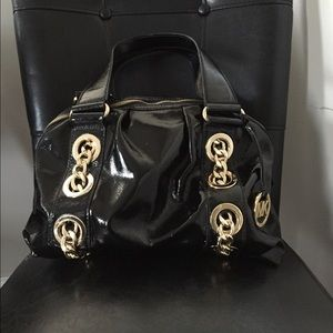 Michael Kors patent leather purse