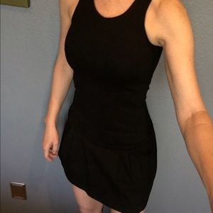 Zara sleeveless black minidress.