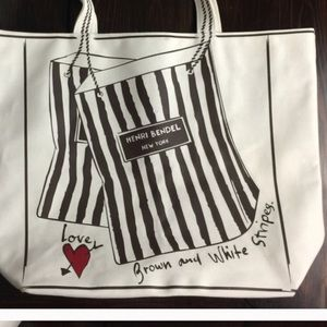 henri bendel Handbags - Special Edition Henri Bendel Canvas Tote Bag