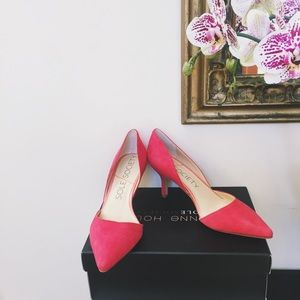 Sole Society Shoes - [Sole Society] Red D'orsay Pump