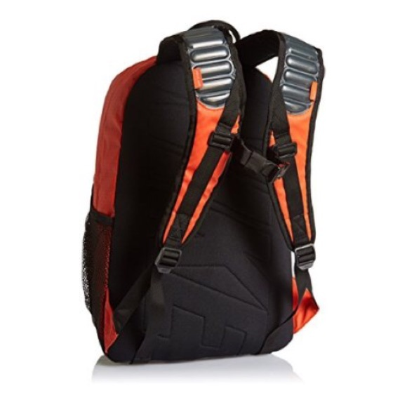 nike nike max air vapor backpack in team orange amp black