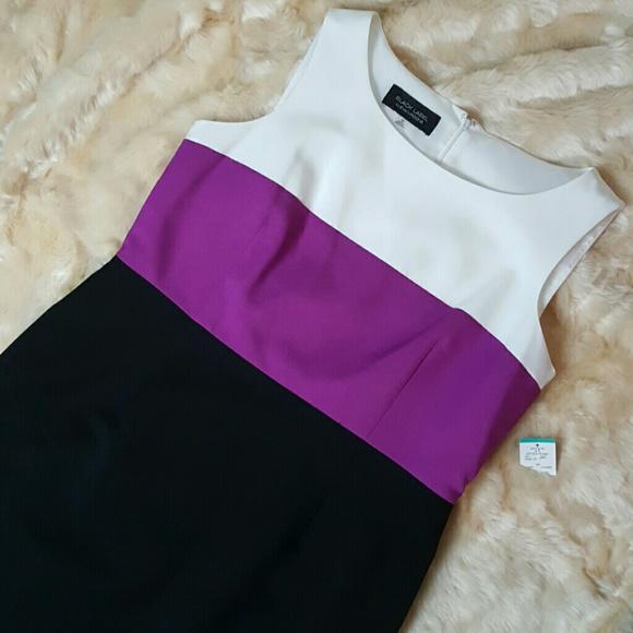 da5d8eb0dda Black Label by Evan Picone Deep Orchid Dress