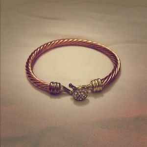 Charming Charlie Jewelry - Charming Charlie rose gold bracelet!