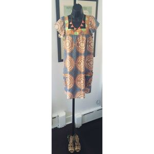 Central Park West  Dresses & Skirts - Printed Shift Dress