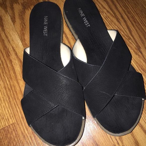 Shoes | Nine West Slides | Poshmark