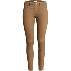 H&M Dark Beige Slim Pants