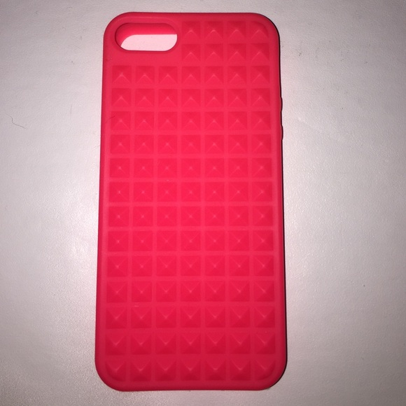 new concept 16bd3 99564 Hot Pink spike iPhone 5, 5s, 5c case