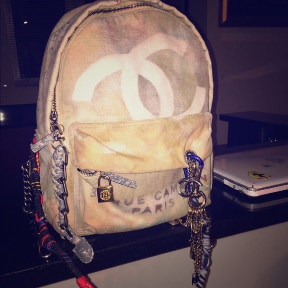 Chanel Bags Chanel Graffiti Backpack Bag Runway 0 Authentic Poshmark