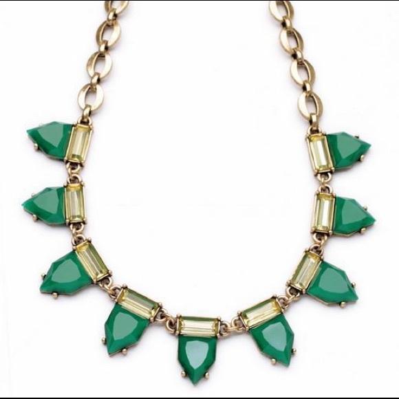 stella dot sold green eye necklace stella dot